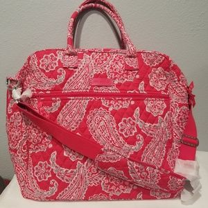 Vera Bradley Grand Traveler Carry-on Travel Bag